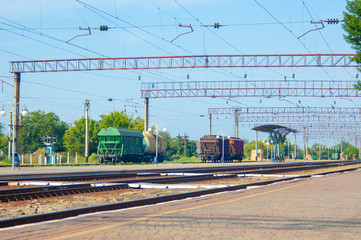 railway, train, railroad, rail, station, transportation, track, transport, travel, steel, rails, way, road, line, platform, perspective, industry, tracks, speed, journey, locomotive, lines, industrial