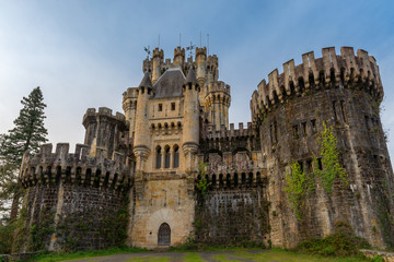 Castle of Butron, Basque Country, Spain