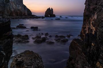 Portizuelo beach, Asturias, Spain