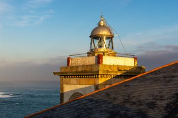 Lighthouse of Luarca, Asturias, Spain