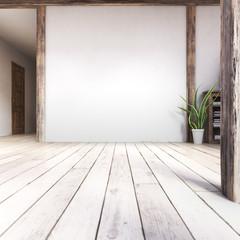 Scandinavian interior living room MockUp #2
