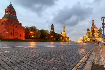 Moscow Kremlin, Vasilyevsky Descent near St. Basil's Cathedral.