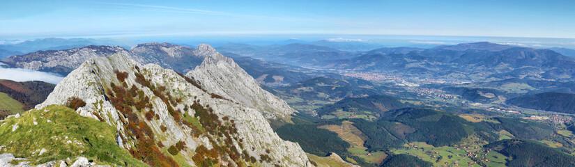 Amboto, Urkiola, Basque Country. Natural Park