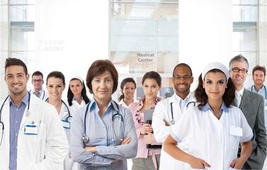 Team photo of medical center