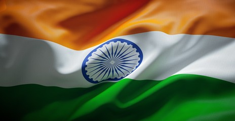 Official flag of India.