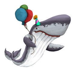 Party Whale No.2