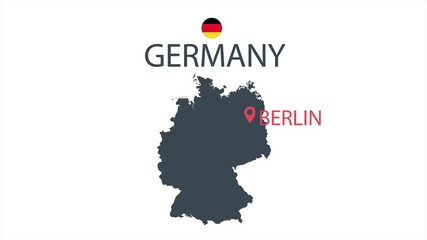 Cartoon Map Of Germany.Search Photos Germany Map