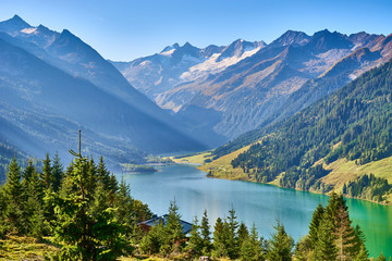 "Stunning Lake in Tirol / Reservoir ""Durlaßboden"""