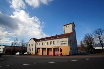 Fire station in Sangerhausen