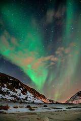 Polarlicht am Himmel