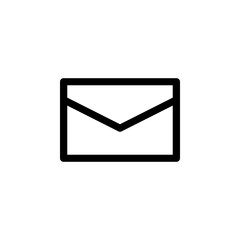 Mail icon vector. E-mail icon. Envelope illustration. Message
