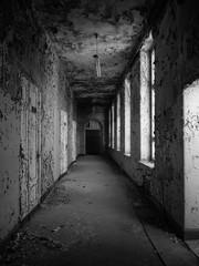 lost place corridor