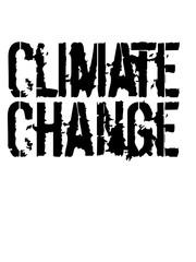 text Climate Change klimawandel erde retten klima heiß erderwärmung verschmutzen echt co2 ökologisch schützen retten planet grün leben frieden hippie logo