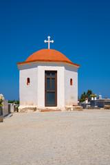 Small chapel near Arkadi Monastery in Crete