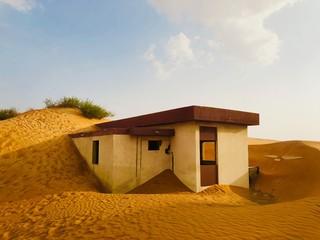 house on desert