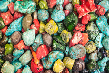 Colorful natural stone background
