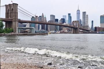 Poster Brooklyn Bridge pont de brooklyn