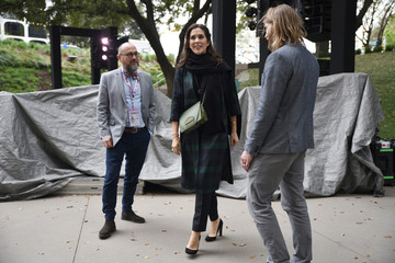Danish Crown Princess Mary tours the South by Southwest (SXSW) conference and festivals in Austin Texas