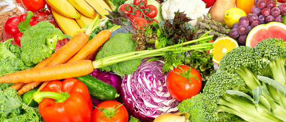 Vegetables food background.