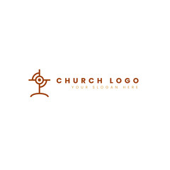 church modern logo
