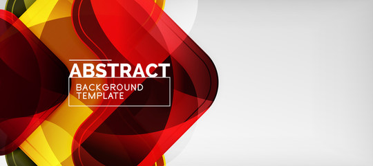 Techno lines, hi-tech futuristic abstract background template with arrow shapes