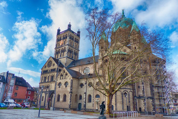 Historisches Münster in Neuss