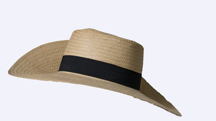 9a4940d9923 The front view of the straw hat that cuts the background causes the  background to be