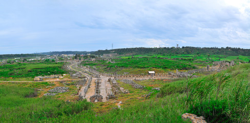 Ancient city of Perge not far from Antalya, Turkey