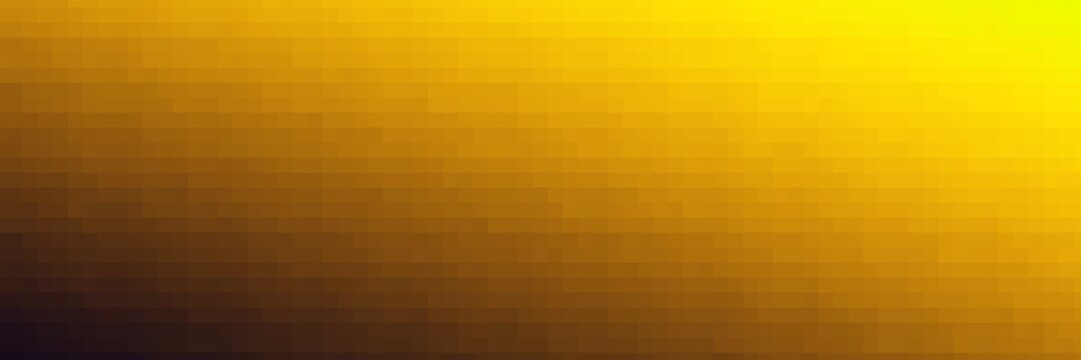 Pixel wall art abstract yellow graphic backdrop
