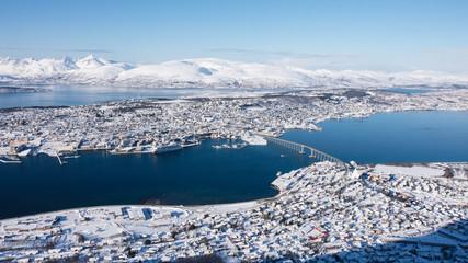 Tromsø view from Fjellheisen