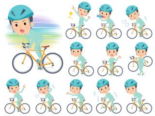 patient young men_road bike