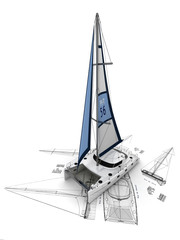 Sailboat manufacturing project