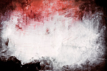 red grungy background with spotlight background