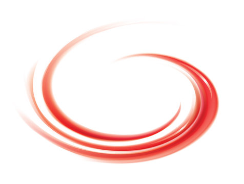 Vector swirling red backdrop. Juice of red fruits