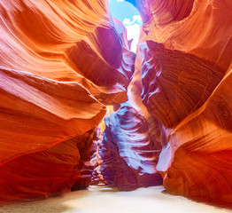 Canvas Prints Cuban Red Antelope Canyon is a slot canyon in the American Southwest.
