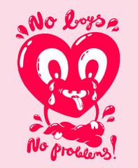 No boys no problems
