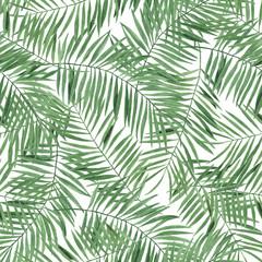 Pattern Digital paper Tropics Leaves of Monstera Palm Watercolor illustrations Botanical Decorations Design