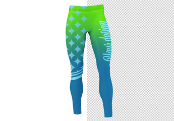 Front of Leggings Mockup