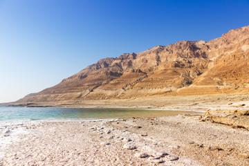 Totes Meer Israel Landschaft Textfreiraum Copyspace Natur