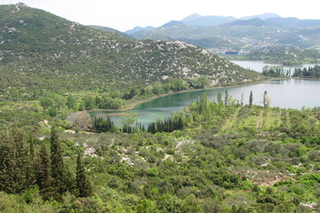 Bacina Lakes in Croatia