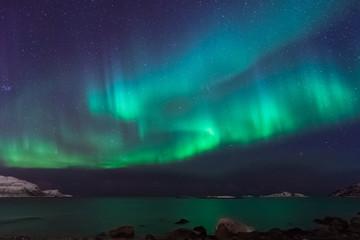 Nordlichter in Tromsø, Norwegen