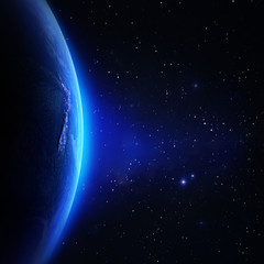 Wall Mural - Planet Earth background