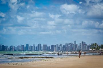 Cities of Brazil - Recife, Pernambuco state's capital - Boa Viagem Beach