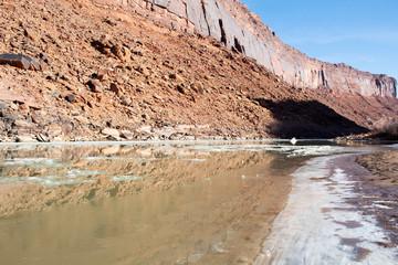 Frozen Lake Canyon