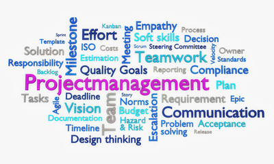 Tag Cloud Projectmanagement