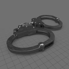 Closed handcuffs