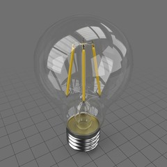 Filament light bulb