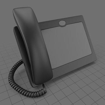 Modern digital telephone