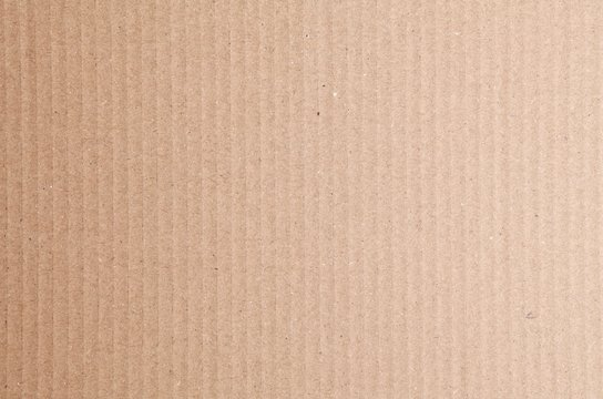 Sfondo texture di cartone ondulato avana