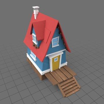 Stylized house 5